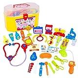 Bluelover 30Pcs Kids Médecin Infirmière Médicale Role Play Kit Bébé Affaire Jeu Jouet Éducatif