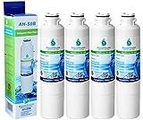 4x AH-S0B kompatibel für Samsung DA29-00020B, HAF-CIN/EXP, DA97-08006A-B, DA29-00020A Kühlschrank Wasserfilter