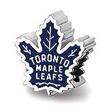 Lex & LU logoart Sterling Silber Toronto Maple Leafs Toronto Maple Leafs auf Ahornblatt, emailierten Extrudieren