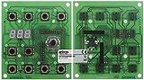 MODULINE/LAINOX Bedienplatine mit Potentiometer Breite 105mm für Kombidämpfer Länge 95mm