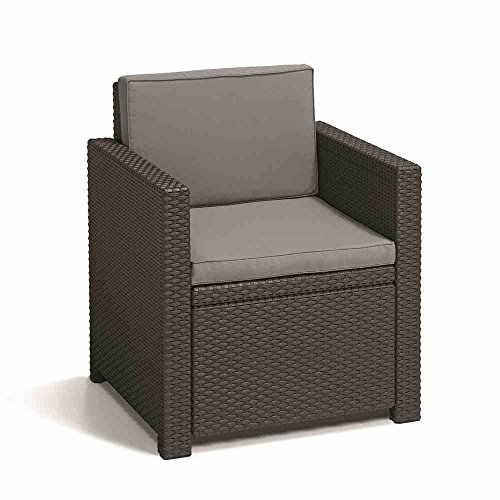 Allibert Lounge Set Monaco, Grau, 4-teilig - 2