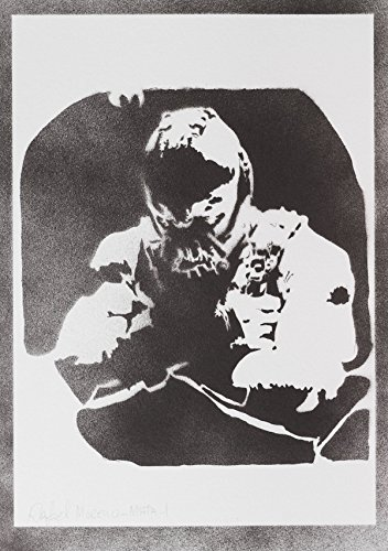 man Rises Handmade Street Art - Artwork - Poster (Bane Kostüme Maske)