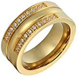 Best Epinki Friend Rings For 2 Crowns - Epinki Women Ring, Gold Plated Gold 2 Series Review