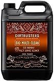 Dirtbusters Multi nettoyeur de surface pour un nettoyage écologique et biodégradable Orange Sur toutes les surfaces