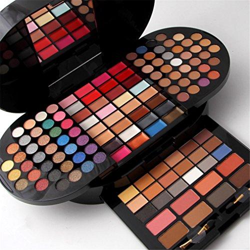 FantasyDay® 130 Colores Sombra De Ojos Paleta de Maquillaje Cosmética con Corrector y Rubor y Sombra De Ojos - Perfecto...