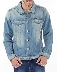 US Polo Association Mens Tapered Fit Jeans (8907259216621_USJK0405_Light Blue_L)