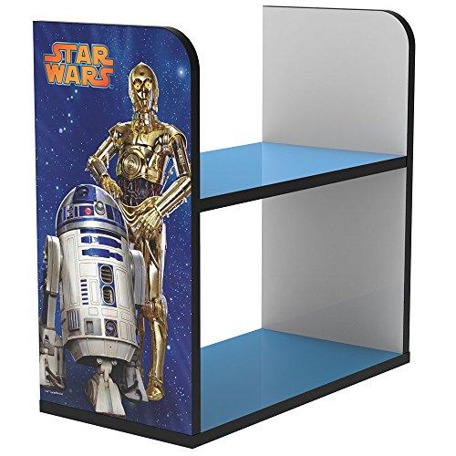Stor scaffale infantile   star wars   disney - dimensioni: 50 x 50 x 25 cm. - vari personaggi