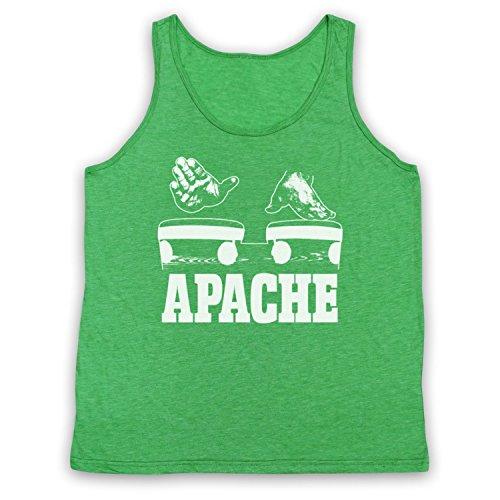 Inspired Apparel Inspiriert durch Incredible Bongo Band Apache Inoffiziell Tank-Top Weste, Jahrgang Grün, XL