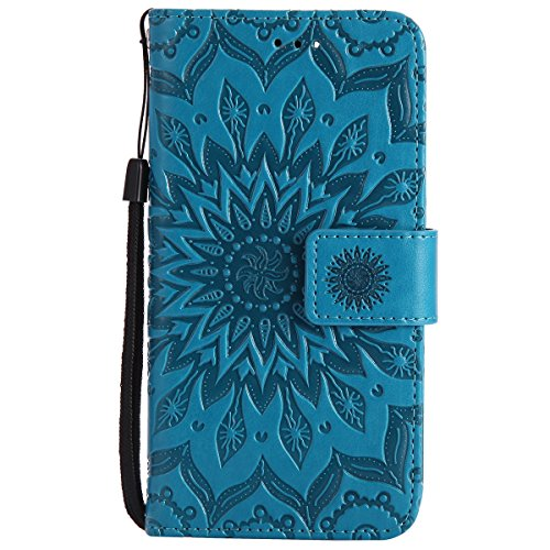 Huawei-Nova-Custodia-Huawei-Nova-Custodia-Portafoglio-Huawei-Nova-Custodia-Pelle-JAWSEU-3D-Goffratura-Ragazza-Gatto-Fiore-Diamante-Lusso-PU-Leather-Flip-Cover-Custodia-per-Huawei-Nova-Wallet-Case-Prot
