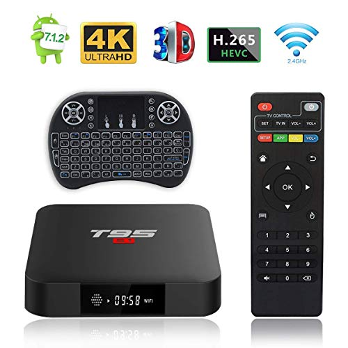 Android TV Box, T95 S1 TV Box 2GB RAM/16GB ROM Android