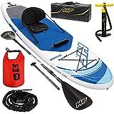 SUP Stand Up Paddle Board | 130kg | Drybag | 305x84x12cm | Kajak Sitz | Surfbrett aufblasbar iSUP Leash Paddel