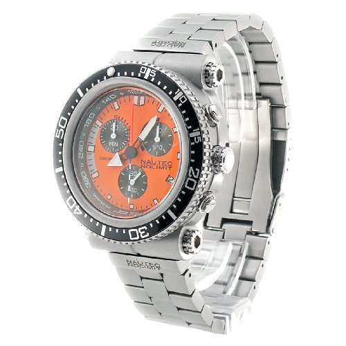 Image of Nautec No Limit Gents Watch Deep Sea Professional Chronograph DS-P QG10/STOR