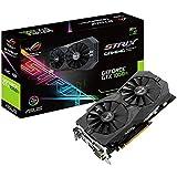 Asus ROG Strix GeForce GTX1050TI-O4G Gaming Grafikkarte (Nvidia, PCIe 3.0, 4GB DDR5 Speicher, HDMI, DVI, Displayport)