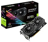 Asus ROG Strix GeForce GTX1050TI-O4G Gaming Grafikkarte (Nvidia, PCIe 3.0, 4GB DDR5 Speicher, HDMI, DVI, Displayport)