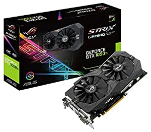 ASUS STRIX-GTX1050TI-O4G-GAMING Grafikkarte (Nvidia, PCIe 3.0, 4GB DDR5 Speicher, HDMI, DVI, Displayport)