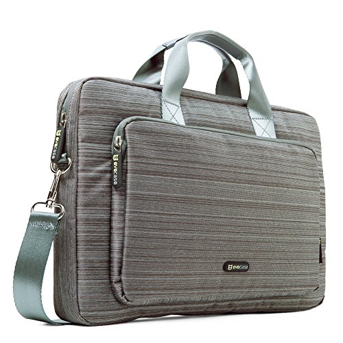 evecase-173-laptop-classic-suit-fabric-shoulder-bag-carry-case-briefcase-for-acer-apple-asus-dell-hp