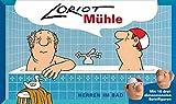 Inkognito Loriot Mühle Herren im Bad 31,5 x 18,5 x 5 cm  40080 ''Das Loriot-Mühlespiel'' Games Spiele
