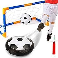 Republe La luz LED de bolas intermitente juguetes Air Power Balones de fútbol multi-superficie de cernido de fútbol con el balón de fútbol Puerta inflable