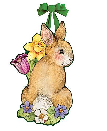 (Studio M Indoor/Outdoor Tür Decor Springtime Bunny)