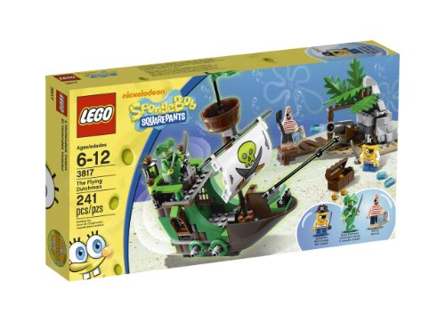 flying dutchman lego LEGO SpongeBob SquarePants LEGO 3817 The Flying Dutchman (japan import)