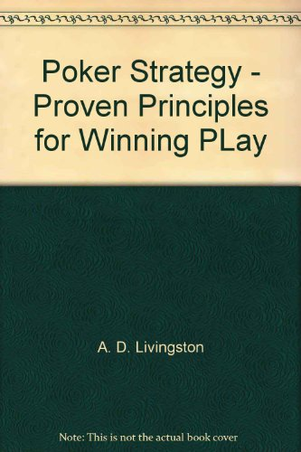 Poker Strategy and Winning Play [Paperback] by