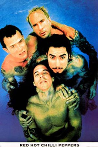 Red Hot Chili Peppers - Poster - Nastro, Blu + Ob