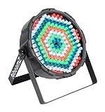 beamZ Flat PAR-LED Scheinwerfer Disco- Bühne- und Gebäude Strahler LED-Lichteffekt (RGBW, 186 x 10mm LEDs, DMX, Wand- und Deckenmontage geeignet)
