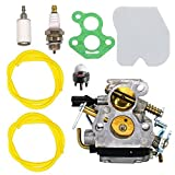 Best Husqvarna Chainsaw - NIMTEK 545072601 Carburetor with Air Filter Spark Plug Review