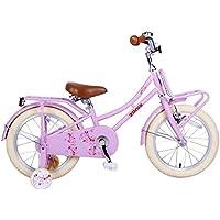 c25d74b7e34389 Zonix Vélo Enfant Fille Oma 16 Pouces Frein Avant et Frein Arrière à  Rétropédalage Rose 85