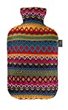Fashy Hot Water Bottle with Cover Peru-Design...