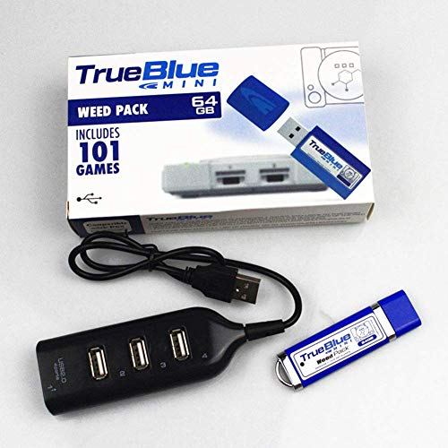 Ablita True Blue Mini Pack Zubehör Plug & Play Portable für Playstation Spiel - True Blue Weed