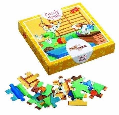 Puzzle Spaß Mick und Muck Turnen 60 Teile