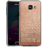 Samsung Galaxy A3 (2016) Housse Étui Protection Coque Phrases Amour Heureux
