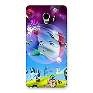 Wonder World Multicolor Back Case Cover for Lenovo Vibe P1