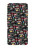 OnePlus X Back Cover - FRIENDS - Icons And Graffiti - Designer Printed Hard Shell Case