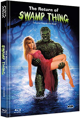 Das grüne Ding aus dem Sumpf [Blu-Ray+DVD] - uncut - auf 333 limitiertes Mediabook Cover B [Limited Collector's Edition]