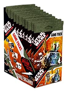 Wizkids Games 03671 - Star Wars Pocket Model scum con Villainy Pantalla, 24 Packs (en inglés)