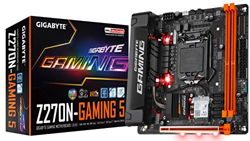 Gigabyte LGA1151 Intel Z270 2 Way SLI Micro ATX DDR4 placas base ga z270mx gaming 5