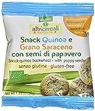 Probios Snack Quinoa e Grano Saraceno, con Semi di Papavero - 35 gr