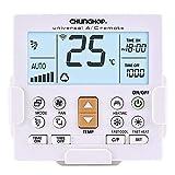 Telecomando universale per condizionatore climatizzatore - Staffa a parete - Schermo con la luce
