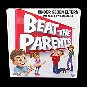 Spin Master 6040749-Spin Master Games-Beat the Parents Version Alemana