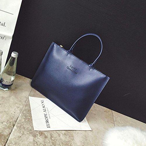 Singola spalla Messenger Bag Phone blu