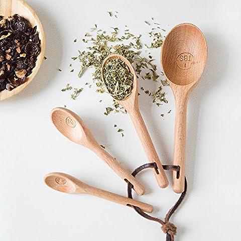Kreative K¨¹che L?ffel aus Holz gadget Geschmack5/Milchpulver braten gemessenen L?ffel