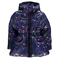 Character Padded Coat Infant Junior Girls Outerwear Jacket Raincoat