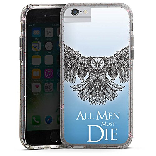 Apple iPhone 6 Bumper Hülle Bumper Case Glitzer Hülle Got Statement Game Of Thrones Bumper Case Glitzer rose gold