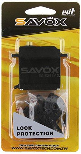 SAVOX sc-0251Hohes Drehmoment Metal Gear größer als Standard Digital Servo - Ko-servo