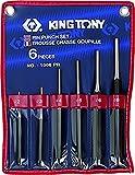 KT Pro Tools 1006PR 6-Piece Pin Punch