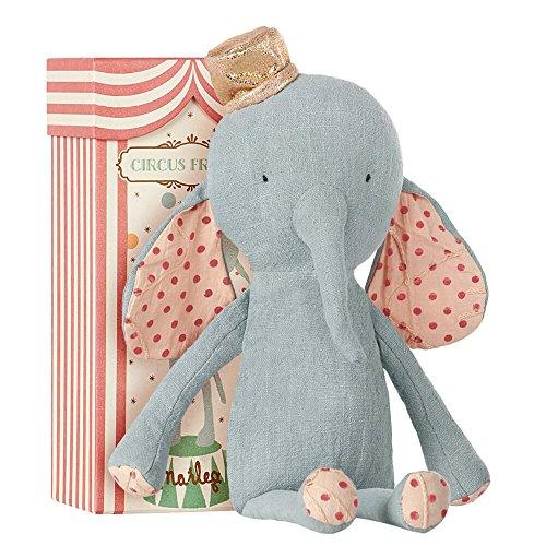 Maileg Circus Friends Elefant mit Hut blau (Maileg Mais)