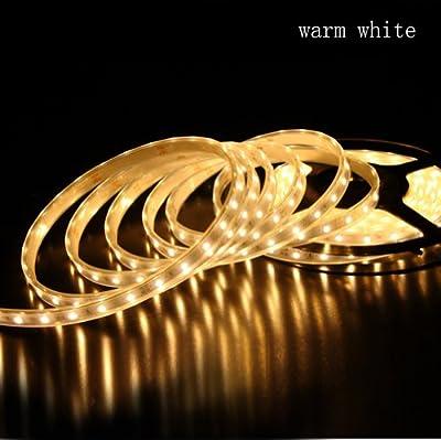 LE Flexible LED Streifen, Warmweiß, Wasserdicht, 300 Einheiten 3528 LEDs, 5M je Packung, LED Lichtband, DIY-Beleuchtung, LED Band, LED Lichtleisten von Lighting EVER - Lampenhans.de