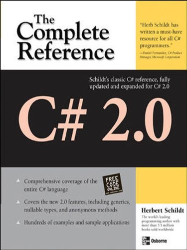 C# 2.0: The Complete Reference (Complete Reference Series)